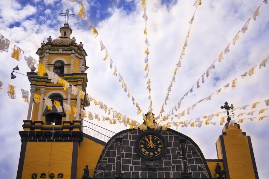 Architecture Mexico Punto De Fuga Blue Sky