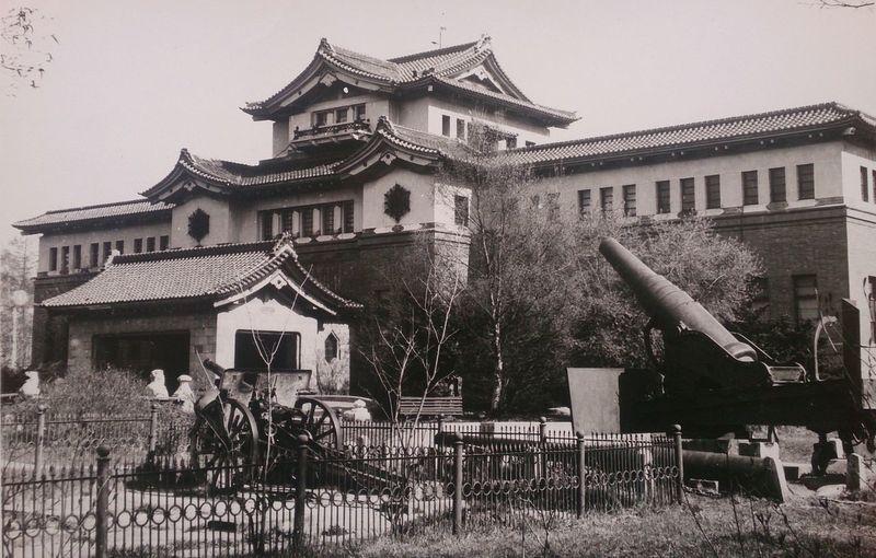 Краеведческий музей в Южно-Сахалинске. Японский след. Старое фото. архитектура город Architecture Urban Japan No People япония Building Exterior