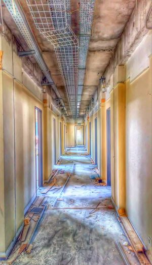 """Depths"" Olyy Strange 2K18 House Abandonned Abandonned Building Abandonned House Urbex Urbexphotography Urbexworld Urbain  Photography Photo Photos #photo #photography #ArtWork Abandoned Exploration Urbexexplorer Photo Of The Day Photographie  Building Architecture Long Corridor Yellow Line"