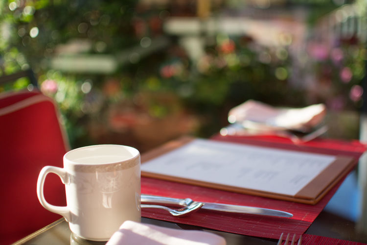Breakfast Breakfast ♥ Cafe Cappuccino Close-up Coffee Coffee - Drink Coffee Cup Coffee Table Cup Day Drink Food And Drink Indoors  Latte Mocha No People Saucer Table