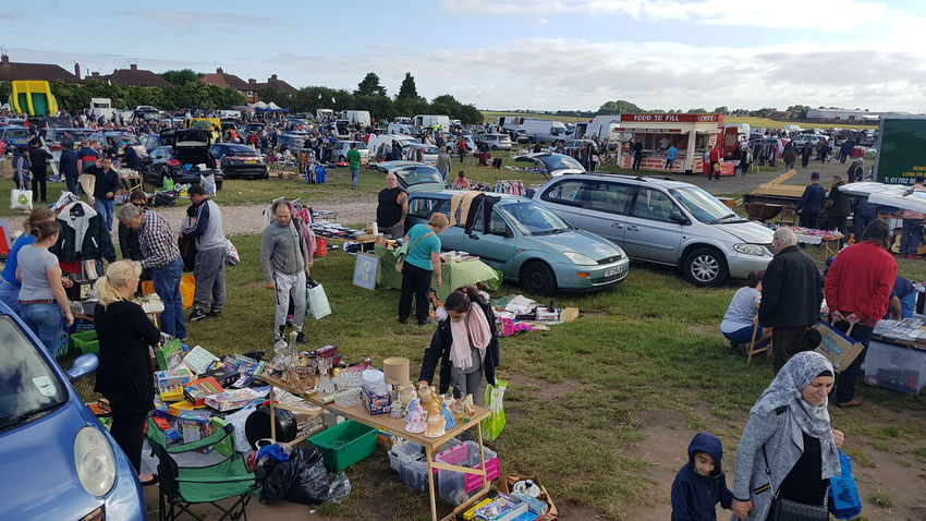 Outdoors Day Arts Culture And Entertainment Sky No People Car Boot Car Boot Sale Crowd Large Group Of People People Consumerism Large Group Of Objects
