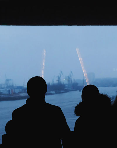 last winter, while visting the elbphilharmonie, I spotted two unicorns :-o HUAWEI Photo Award: After Dark Architecture Built Structure City Cityscape Couple - Relationship Leisure Activity Lifestyles Looking At View Magic Magic Moments Rear View Silhouette Sky Togetherness Unrecognizable Person Water