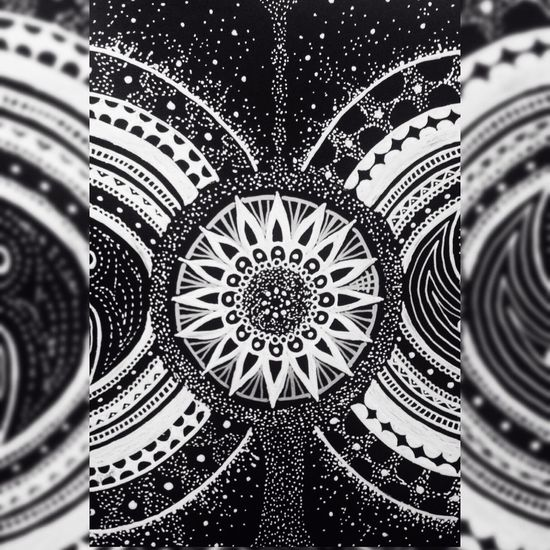 YohkoAmaterraArt 曼荼羅 マンダラ Mandala Cosmo Torus My Art My Drawing Create Art