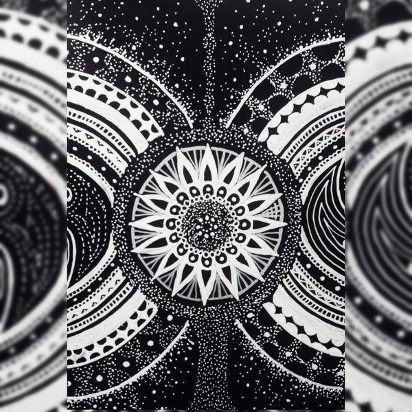 YohkoAmaterraArt 曼荼羅 マンダラ Mandala Cosmo Torus My Art My Drawing Create Art