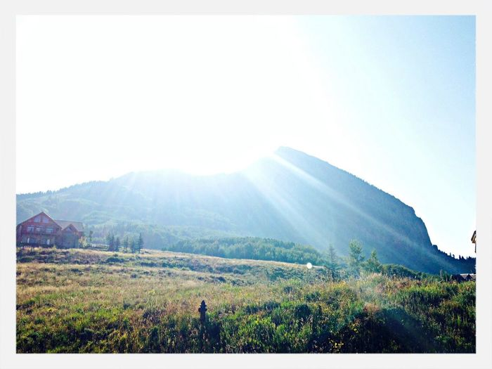 Sunrises and summits Mountain View Crested Butte Mountain House Colorado First Eyeem Photo