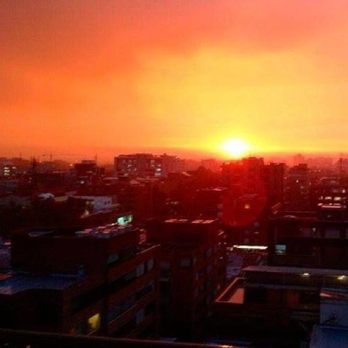 atardecer Bogotano !!!