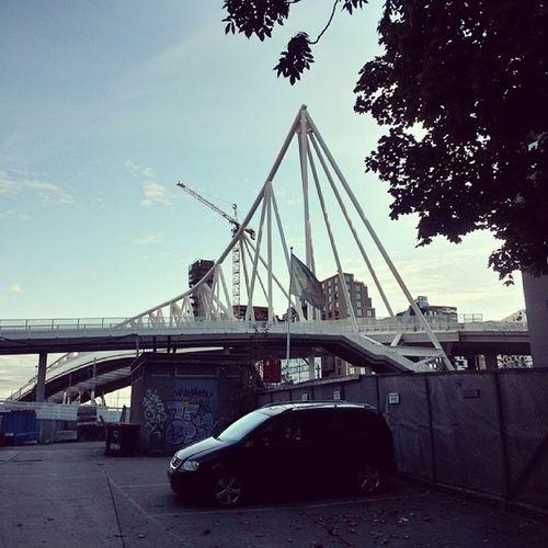 Ilovenorway Ilovenorway_oslo Worldunion Wu_norway autumn høst nordenga bro bro bridge steel stål oslo whereinoslo oslove