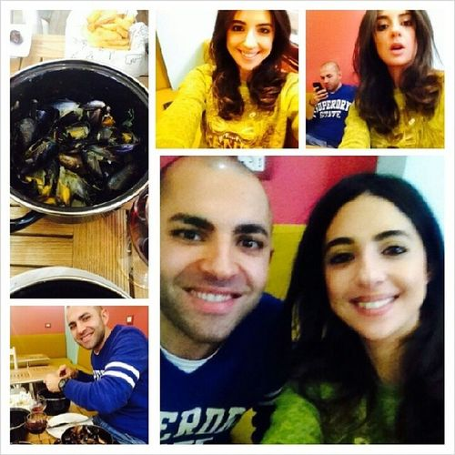 Birthday lunch with my Sis Selfies Birthdaylunch HappyBirthdayToMe Myfav MoulesEtFrites