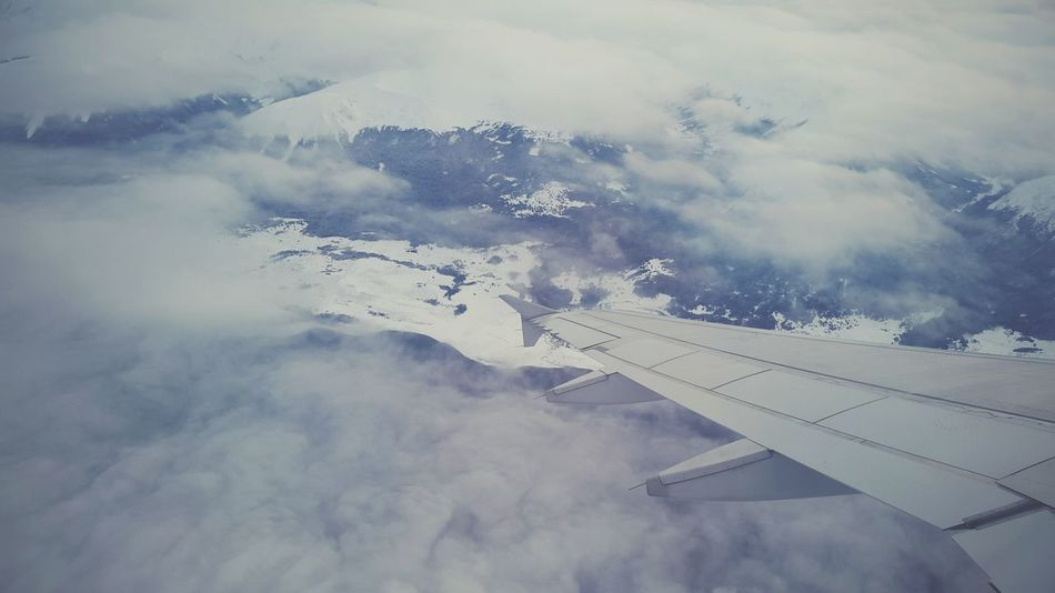 First Eyeem Photo Flying Home Fly Nigga ✈✈ On A Plane Mountain View On A Holiday