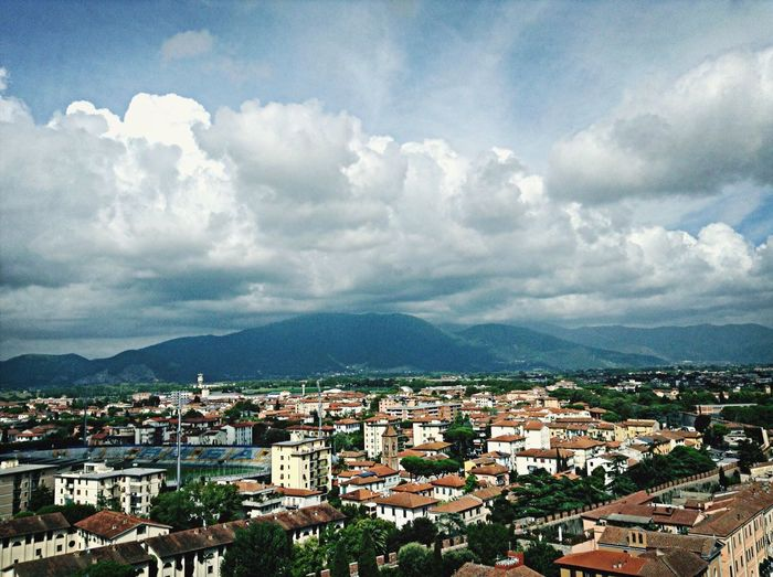 View from the Leaning Tower of Pisa. Travel The Leaning Tower Of Pisa
