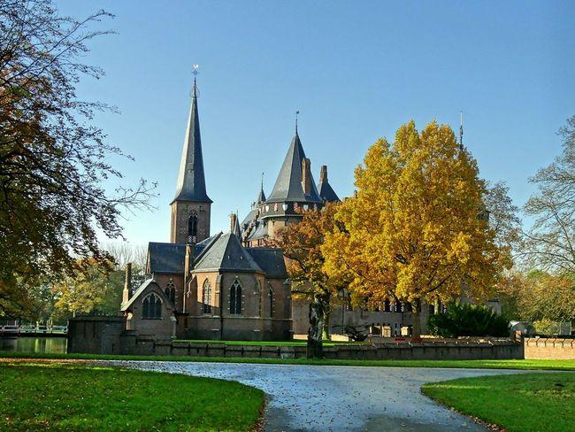 Holland Utrecht , Netherlands Castle Autumn🍁🍁🍁 Yellow Park Enjoying Life Photography Beutiful Day