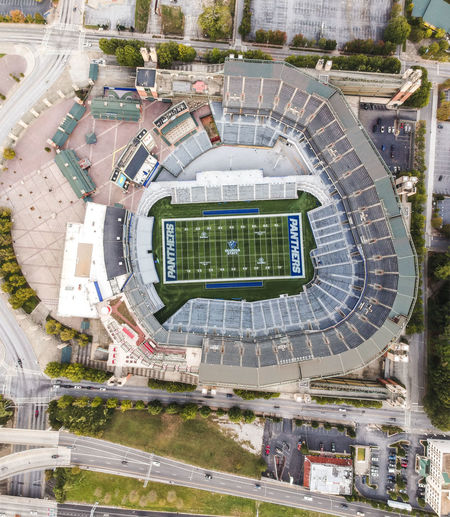 Drone  Football NFL Architecture Atlanta Building Exterior Built Structure City College Football Day Dronephotography High Angle View Large Group Of People Outdoors People Sport Tree