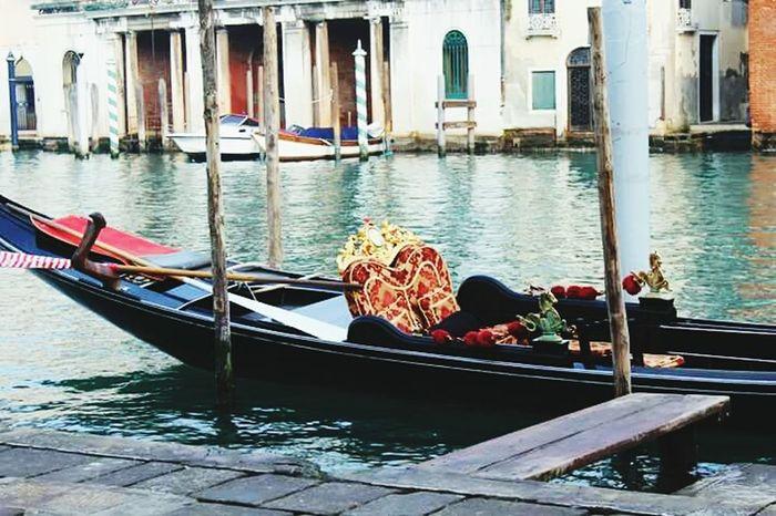 Venezia Veneza Gondola Gondole In Venice Venice Love Romantic Romantico