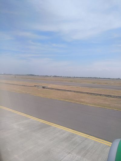 Taxiway Juanda Airport Runway Airport Terminal Airportphotography Surabaya INDONESIA Beauty Indonesia Indonesia Photography  Nice Atmosphere Clouds Cloud Cloudy Cloud - Sky Cloudscape Politics And Government Sky Landscape