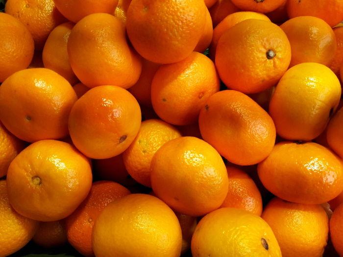 tangerines at