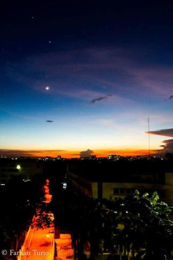 Photo says it all! All in One!!! Bangladesh 🇧🇩 Sunset Sky Moon Night No People Nature Scenics Outdoors Beauty In Nature Astronomy Freshness EyeEmNewHere Dramatic Sky Sunset Lovers EyeEm Nature Lover Nature Beautiful Sky Awsome Sunset Beauty In Nature Cloud - Sky Colors Of Nature Multi Colored Sky City Lights Cityscape Breathing Space The Week On EyeEm Investing In Quality Of Life Your Ticket To Europe