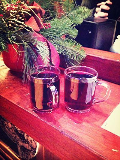 Glühweinchen mit Schwager - Ende der Weihnachtsmartktsaison 2012