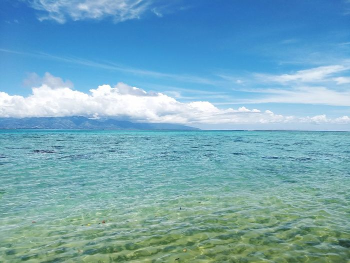 Sea Sky Cloud -