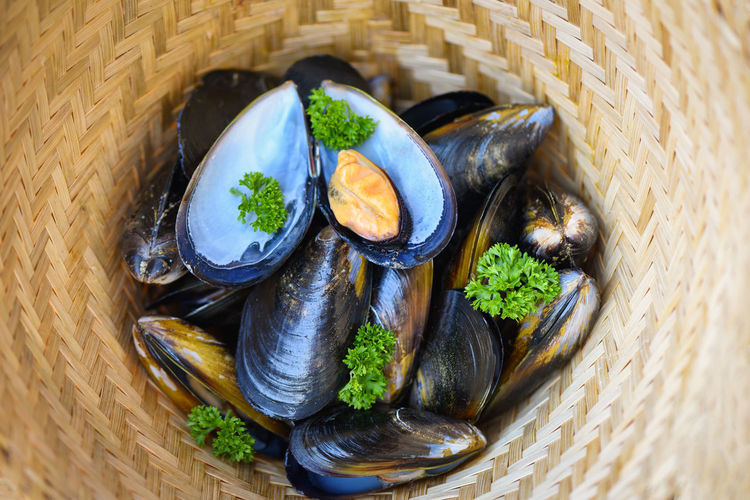 Mussels with
