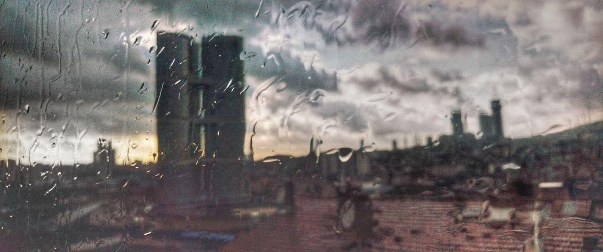 Bmcphotography_ Dumankaya Ikon Ataşehir Istabul Rain Wet Water Weather Drop No People Condensation RainDrop Torrential Rain Cloud - Sky Outdoors Architecture Day Sky Storm Cloud Nature