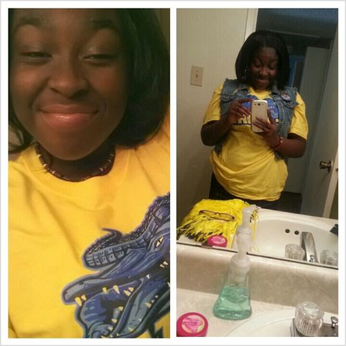 Look Like A Banana With All This Yellow On