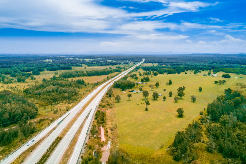 A1 Collombatti High Up Horizon Landscape New South Wales  Pacific Highway Panoramic Sky Travel Locations Aerial Australia Background Beautiful Countryside Drone  Fields Highway Lookout Meadows Nsw Outdoor Panorama Pastures Road Rural Area Scenic Travel Travel Destinations Trees View