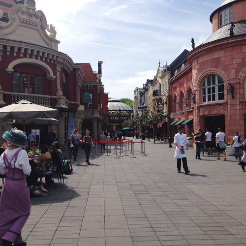 Germany Theme Park Long Lines Fun
