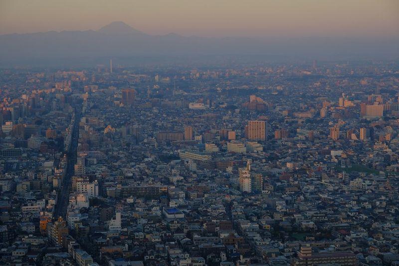 Tokyo city at