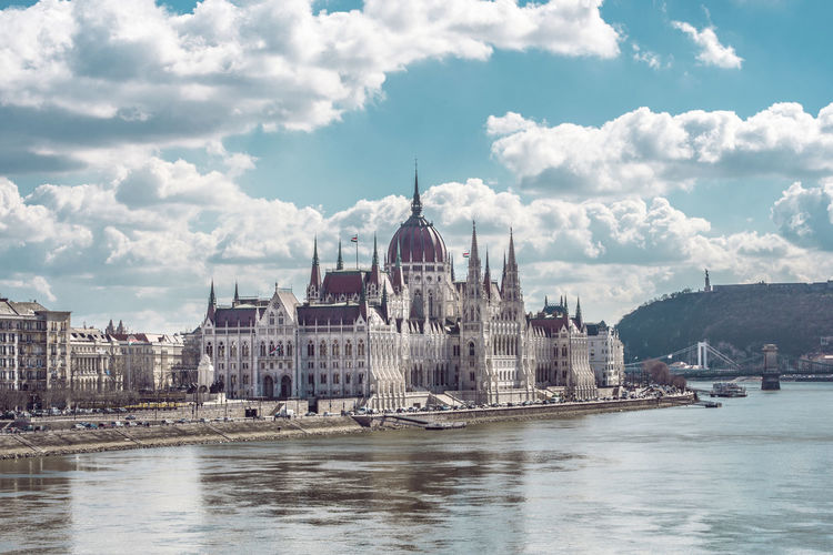 Budapest Budapest, Hungary Cloud Danube Parliament Building Travel Architecture Building Exterior Built Structure City Cloud - Sky Clouds And Sky Danube River Day History No People Parlament Parlament Of Hungary Parliament River Sky Travel Destinations