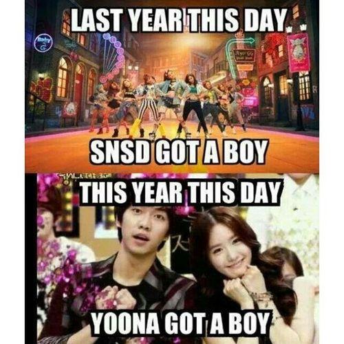 Cracked me up yesterday! Hahaha! Thanks @shimin_kek for sharing! Kpop Imyoona Leeseunggi 임윤아 이승기 소녀시대 igotaboy yoonagotaboy