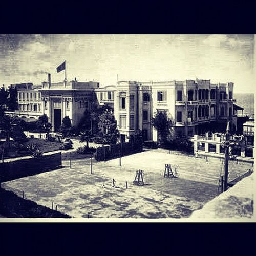 The San Stefano Hotel was built on 31,000 square metres of prime real estate overlooking the Mediterranean Sea. The lattice wooden shaded verandahs, music kiosk and segregated bathing, together with its back gardens and tennis courts, offered much of the Belovedegypt