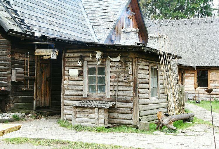 Wooden House Viking Village Viikingite Küla Middle Ages Hut Estonia Eesti Authentic Time Travelling History хата изба деревянный дом деревня викингов история путешествие во времени эстония Средневековье