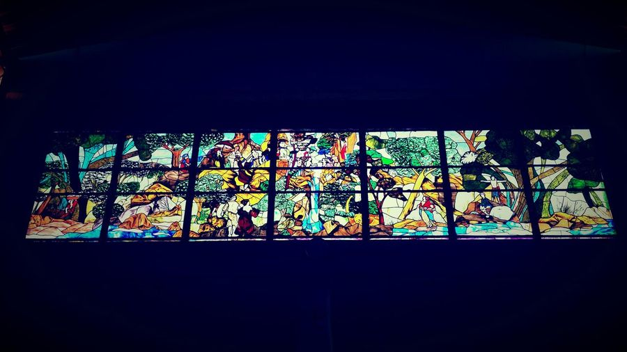 Gorgeous stained glass windows Pretty Church My View Trinidad And Tobago Paramin Hills Taking Photos Church
