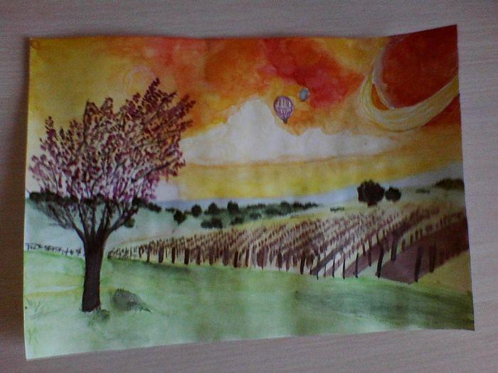 My Inspiration Природа Picture рисунок акварелью Wow *-* вдохновение Watercolor EyeEm