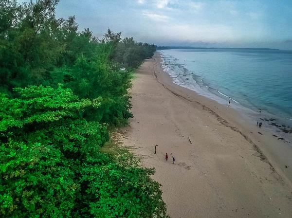 Cloudy Day Johor, Malaysia Ocean View Open Sea Tanjung Balau Beach Johor Malaysia Beach Sahadatsenzaki Wonderful Beach