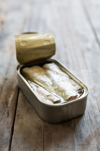 sardines in a