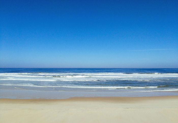 Sommergefühle Summerfeelings Beach Sea Sand Blue Nature Sky Tranquil Scene Vacations Wave Summer Summer ☀