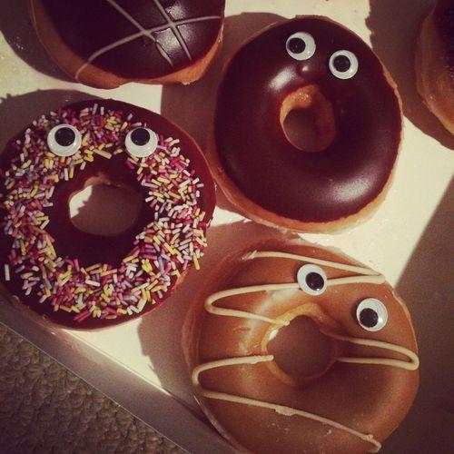 Happy Donuts Krespykreme Donuts Food Foodphotography Happy Eye