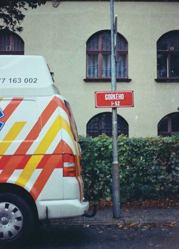 35mm Canon AE-1 Colour Film Filmisnotdead Liberec No People Outdoors Street