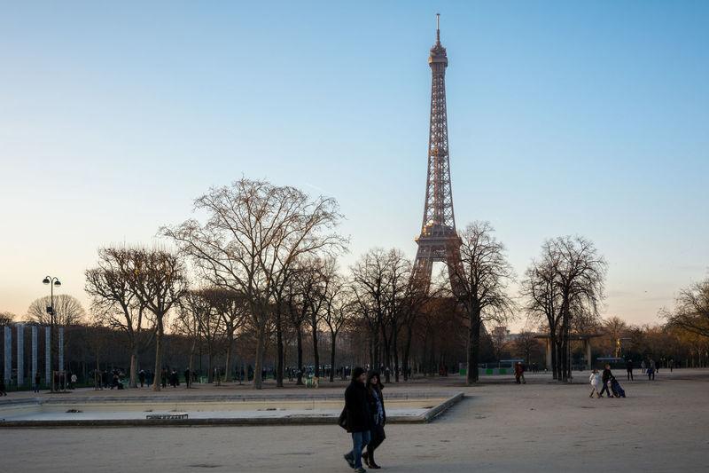 The Eiffel Tower in Paris Architecture Design Eiffel Tower Europe Famous France Francia Landmark Metal Modern Museum Paris, France  Popular Tourist Destination Tower UNESCO World Heritage Site World Wonder