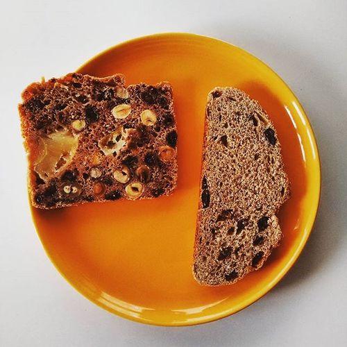 Bread Breadwithapple Breads Breadwithraisins Breadwithraisin Darkbread Food Foodporn Istafood SPELT Speltbread