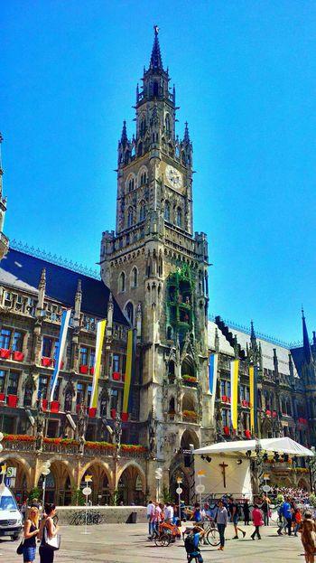 Munich EyeEm Munich Streetphotography Muenchen Marienplatz Rathaus
