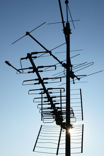 Analog Ways Of Seeing CB Radio City Life Old School Radio Sunny Vintage Technology Abstract Antenna - Aerial Blue Built Structure Cable Clear Sky Communication Connection Electrical Equipment Electricity  No People Radio Station Radio Wave Silhouette Sky Technology Television Tower Urban Vintage
