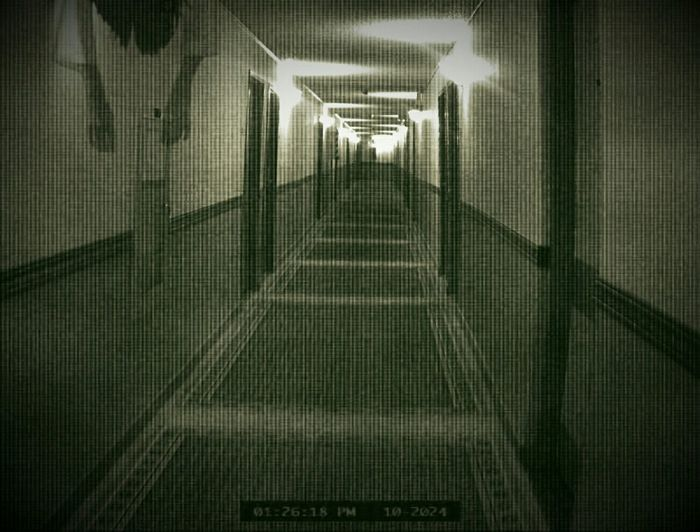 Scary Nightmare Eerie Scene Hanging Body Hallway Mixed Media Horror Fright Night What Scares You?