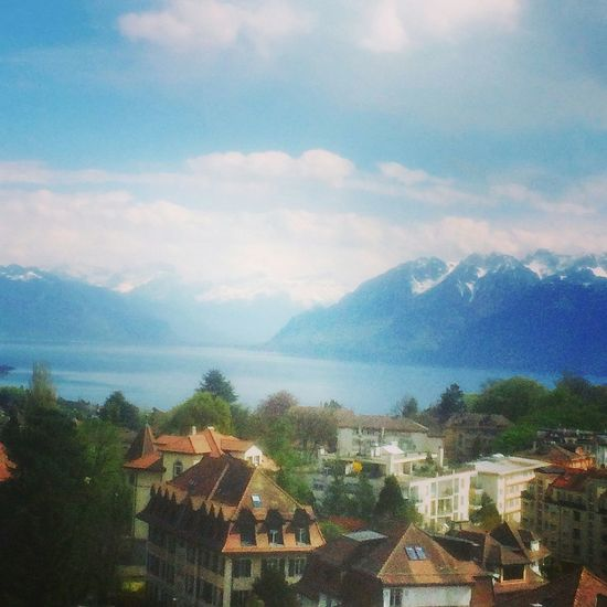 Mountain Cloud Tranquil Scene Blue Tranquility Lifewelltravelled Travel Destinations Switzerland Lausanne No People