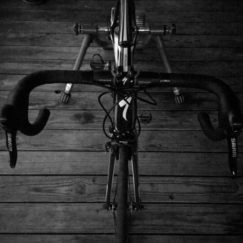 Deckbike Wood - Material Metal No People Indoors  Hanging Close-up Day Cycling Blackandwhite Black And White Black & White Blackandwhite Photography Exercise Black And White Photography Bars