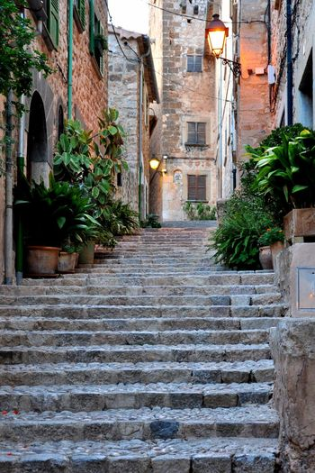 Steps i would love to take in this moment.. Fornalutx Art is Everywhere Love Emotions Never Ending Story Majorca Beautiful Place ♥ Architecture Building Exterior Built Structure Outdoors No People Residential Building Old Town Day