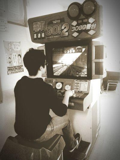 02182016 東京バッティングセンター 電車でGO 安田 ゲームセンターたまには電車に乗るのではなく運転してみましょう~