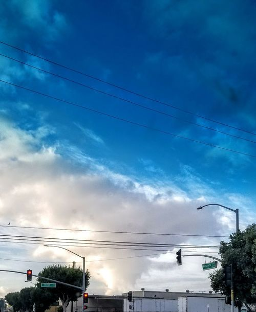 Morning cloud formation