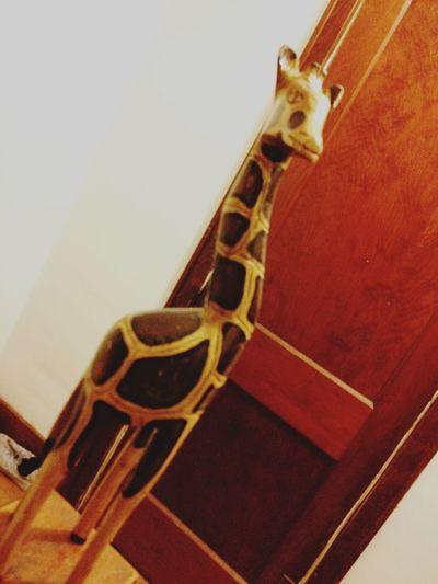 Giraffe you way till you get to your destination